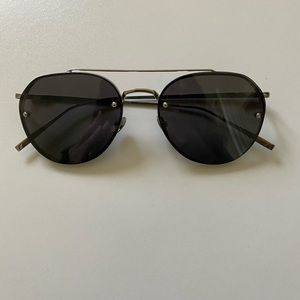 PERVERSE Metal Aviator Sunglasses